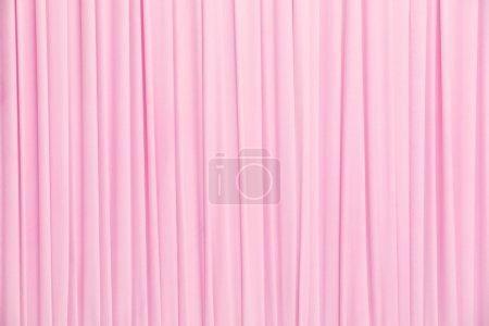 Photo pour Gros plan fond de texture pour le rideau couleur rose - image libre de droit