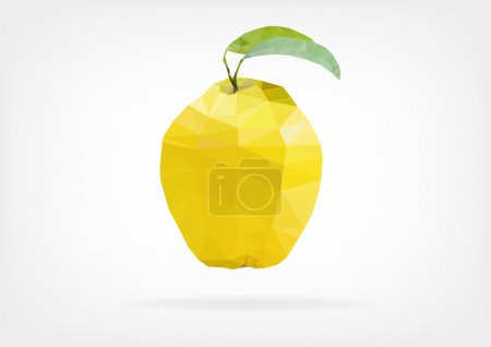 Low Poly Quince