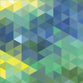 Mosaics and colored triangles