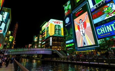 Glico BIllboard in Osaka