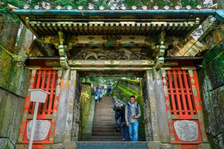 Nikko Toshogu Shrine in Nikko, Tochigi, Japan