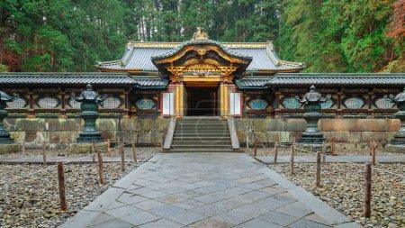 Taiyuinbyo - the Mausoleum of Shogun Tokugawa Iemitu in Nikko, Japan