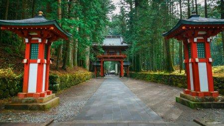 Nikko Futarasan Shrine in Nikko, Tochigi, Japan
