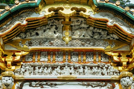 Karamon Gate - The gate of the main Shrine at Tosho-gu shrine in Nikko, Tochigi, Japan
