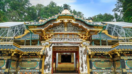 Karamon Gate - The gate of the main Shrine at Tosho-gu shrine in Nikko, Tochigi, Japan