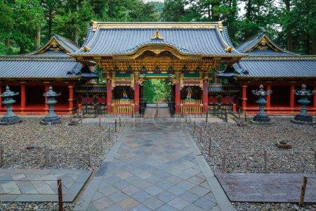 Yashamon Gate at Taiyuinbyo - the Mausoleum of Shogun Tokugawa Iemitsu in Nikko, Japan