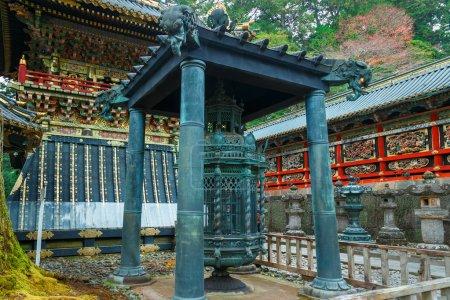 Oranda Doro (Dutch lantern) at Tosho-gu shrine in Nikko, Japan