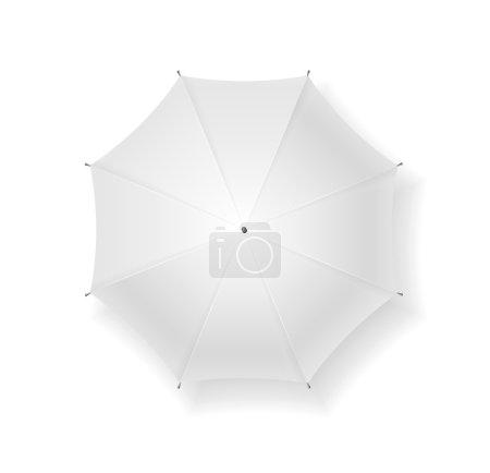 Umbrella blank. Vector