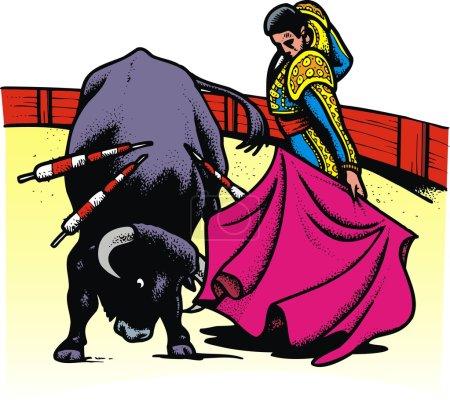 bull in arena