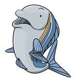 Tuna Fish cartoon illustration