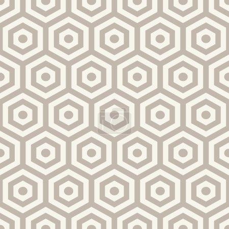 Ilustración de Textura de hexágonos. patrones geométricos sin fisuras. - Imagen libre de derechos