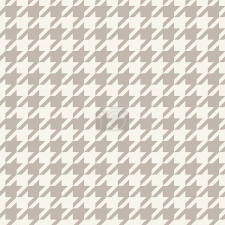 Pied de Poule checks. Hounds-tooth seamless vector pattern