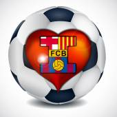 I love football club barcelona