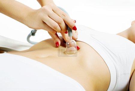 Vacuum slimming massage