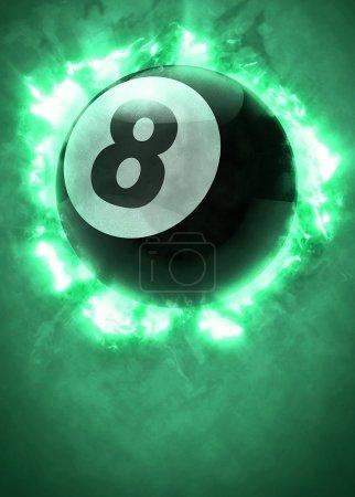 Billiard pool snooker sport background