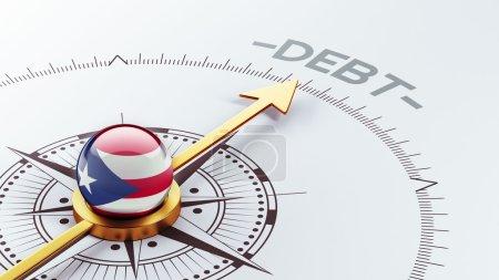 Puerto Rico Debt Concept
