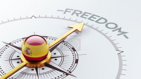 Photo for Spain High Resolution Freedom Concept - Royalty Free Image