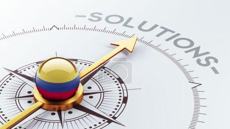 Concept de Solution de Colombie