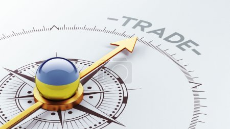 Photo for Ukraine High Resolution Trade Concept - Royalty Free Image