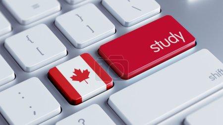 Photo pour Canada Étude à haute résolution Concept - image libre de droit
