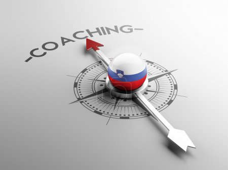 Photo for Slovenia High Resolution Coaching Concept - Royalty Free Image