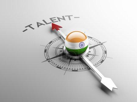 Photo pour Concept de Talent Inde haute résolution - image libre de droit