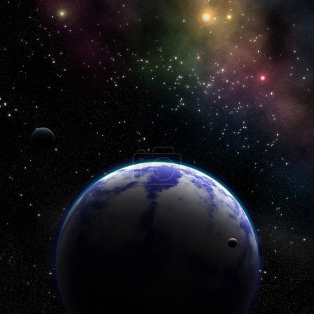 supernovae and extrasolar planet