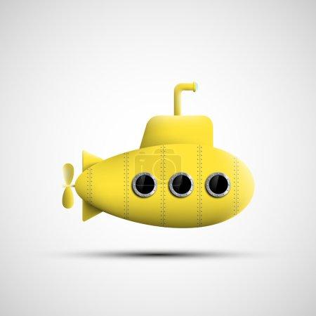 Yellow metal submarine.