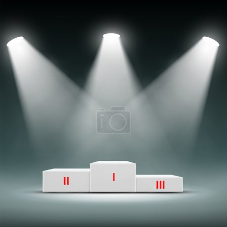 Awards Ceremony. Stock illustration.