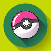 Pokebol Pokemon game cartoon icon