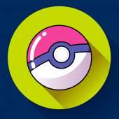 Pokebol Pokemon game cartoon icon