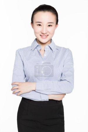 beautiful businesswoman portrait