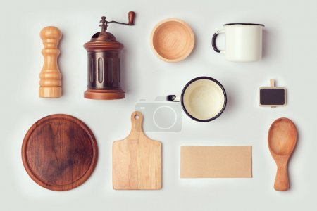 Kitchen mock up template