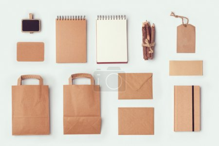 Stationery mock up template