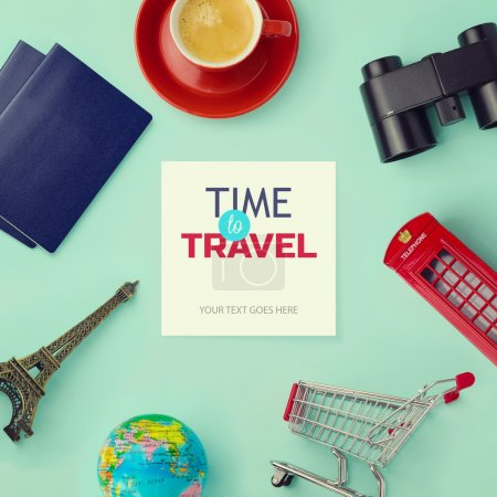 Objects related to travel and tourism