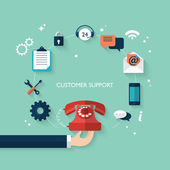 Concept for customer and technical support