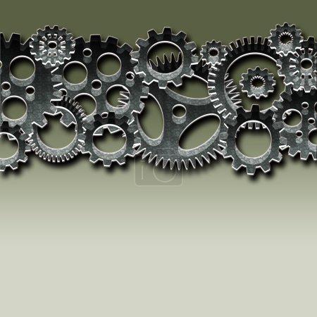Gears and cogwheels mechanism