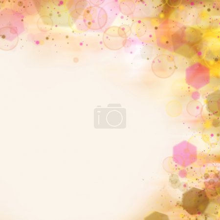 Abstract blinking sparkles background
