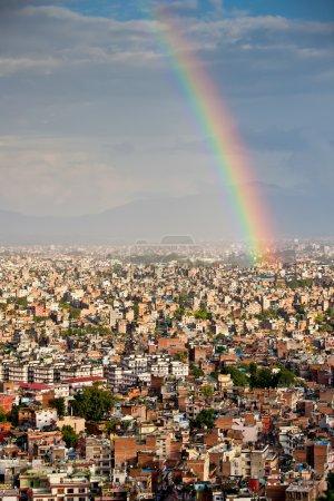 Kathmandu city after rain