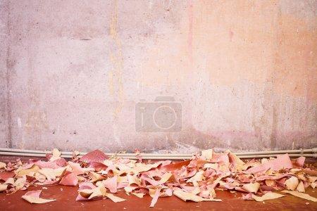 Repair work in a residential apartment