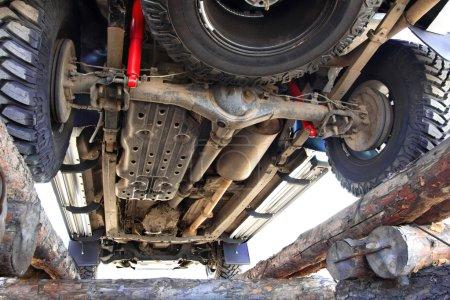 Off-road for repairs