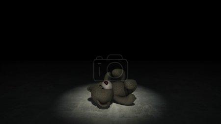 Photo pour Notion de violence envers les enfants - image libre de droit