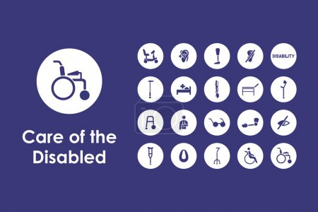 Set of people with disabilities