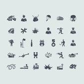 Set of war icons