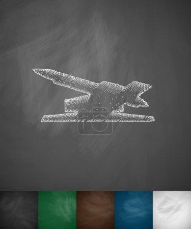 antiaircraft rockets icon