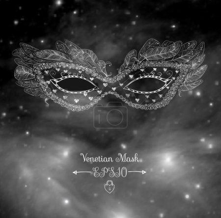 Festive venetian mask