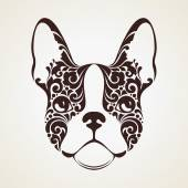 Ornamental decorative dog French Bulldog