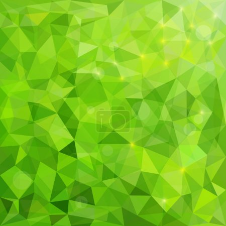 Illustration for Abstract Background Polygon. Modern Geometric Vector Illustration - Royalty Free Image