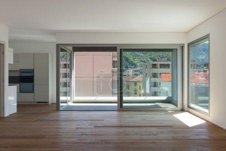 Interior, room with balcony
