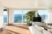 Modern house, living room